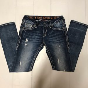 ROCK REVIVAL | Sukey Easy Straight Jeans 26